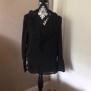 Beautiful Black classic blouse